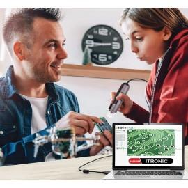میکروسکوپ لوپ دیجیتال 1000x ساپورت اندروید و ویندوز