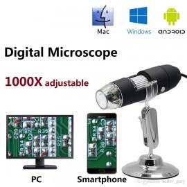 میکروسکوپ دیجیتال اندروید و ویندوز USB 1000X